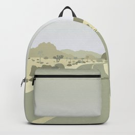 Joshua Tree Park - On the road Backpack