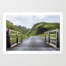 Winnats Pass Derbyshire Art Print