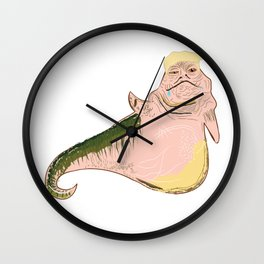 Donald The Trump Wall Clock
