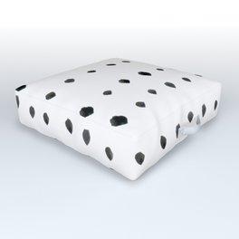 Modern boho dot Outdoor Floor Cushion