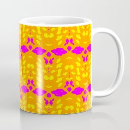 Kaleidoscope Leopard Stripe Coffee Mug
