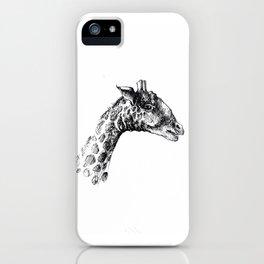 Giraffa minima iPhone Case