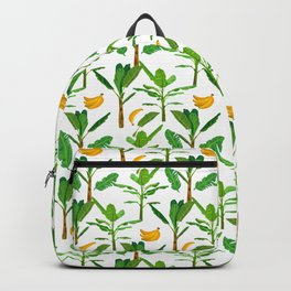 Banana Tree Plant Tropical Fruit Healthy Food  Backpack