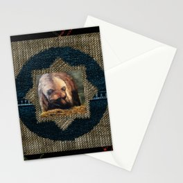 Grizzly Bear Makes Eye Contact Stationery Cards