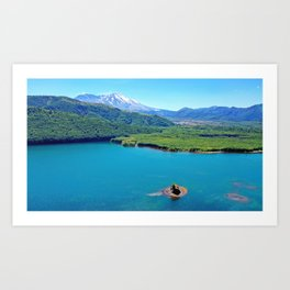 Coldwater Lake Art Print