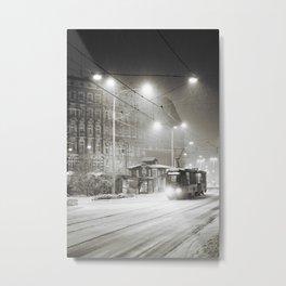 It's snowing Metal Print