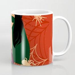 Cute Halloween Witch Gothic Girl Draco Coffee Mug