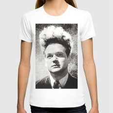 eraserhead SMALL White Womens Fitted Tee