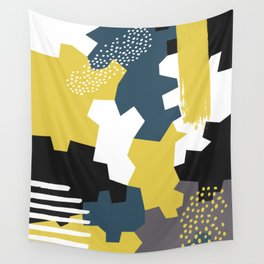Abstract 2 Wall Tapestry
