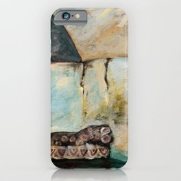 """""""THE REST OF THE OWL"""" INSPIRED AT MASAI RIVER, KENYA iPhone Case"""