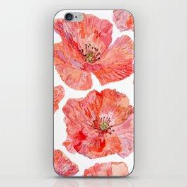 Wilds Poppies iPhone Skin