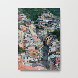 The Beautiful Riomaggiore Metal Print