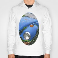 volkswagen Hoodies featuring Nature: 1 - Volkswagen Beetle: 0 by Hub Photos