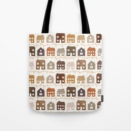 Modern Country Farmhouses Tote Bag