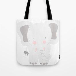 Elephant - jumbo GREY Tote Bag