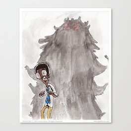 Monsters - 01 Monsters Canvas Print
