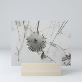 Snow Spike Mini Art Print