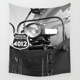 Union Pacific Big Boy Detail Wall Tapestry