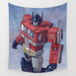 Optimus Prime Wall Tapestry