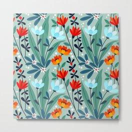 Wonderful Spring Flowers I Metal Print