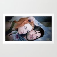 eternal sunshine Art Prints featuring Eternal Sunshine by Giulia Mariella