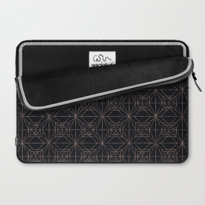 Autumn Tiles (Night ver.) Laptop Sleeve