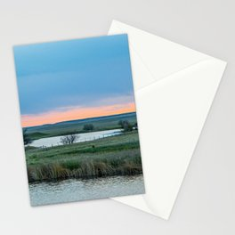 Base Pond, Saint Marie MT 1 Stationery Cards