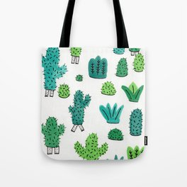 Cactus Don't Shave Tote Bag