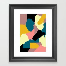 Stay Up Late And Framed Art Print