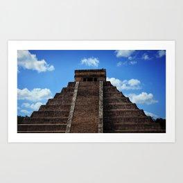 El Castillo Art Print