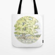 Crop Circle 03 Tote Bag