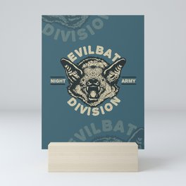 Evil Bat Division Mini Art Print