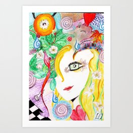 More than meets eye Art Print