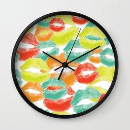 Mod Lips Wall Clock