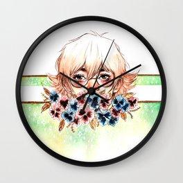 The Green Paladin Wall Clock