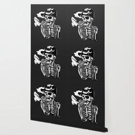 Military skeleton illustration - Soldier skull Wallpaper