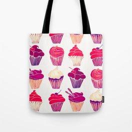 Cupcakes – Fuchsia Palette Tote Bag