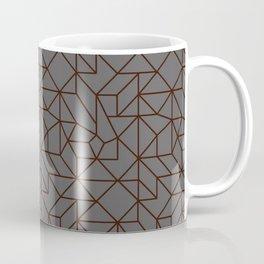 Masculine Geometric Patterns | Modern | Minimalist Coffee Mug