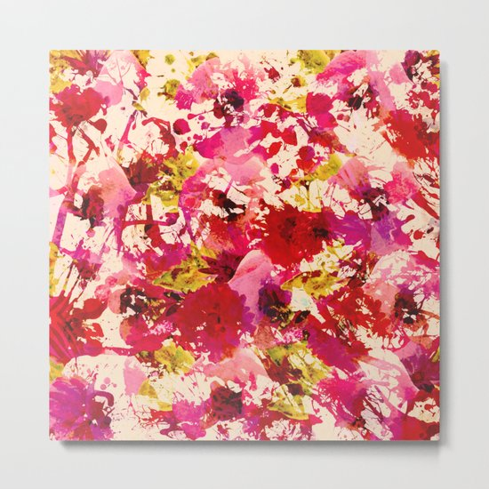 abstract summery garden Metal Print