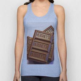 Au Chocolat Unisex Tank Top
