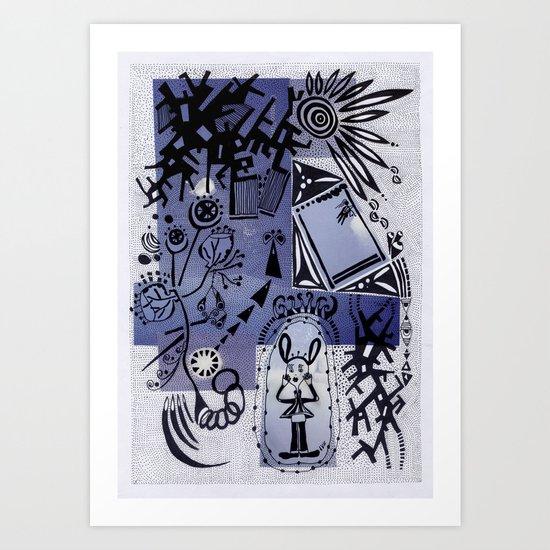 C 2 Art Print