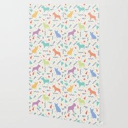 French Bulldog Pattern Wallpaper