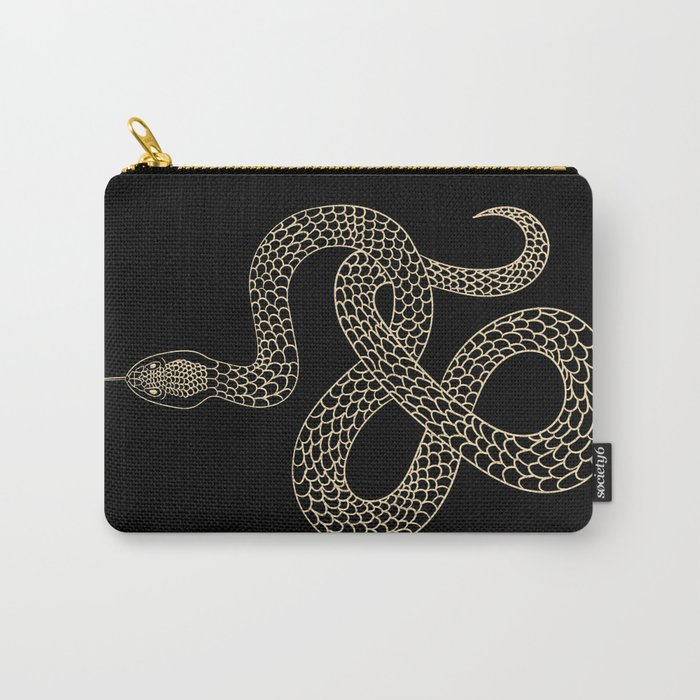Vintage line snake Tasche