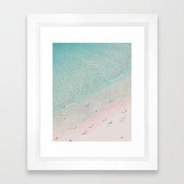 beach - summer of love III Framed Art Print
