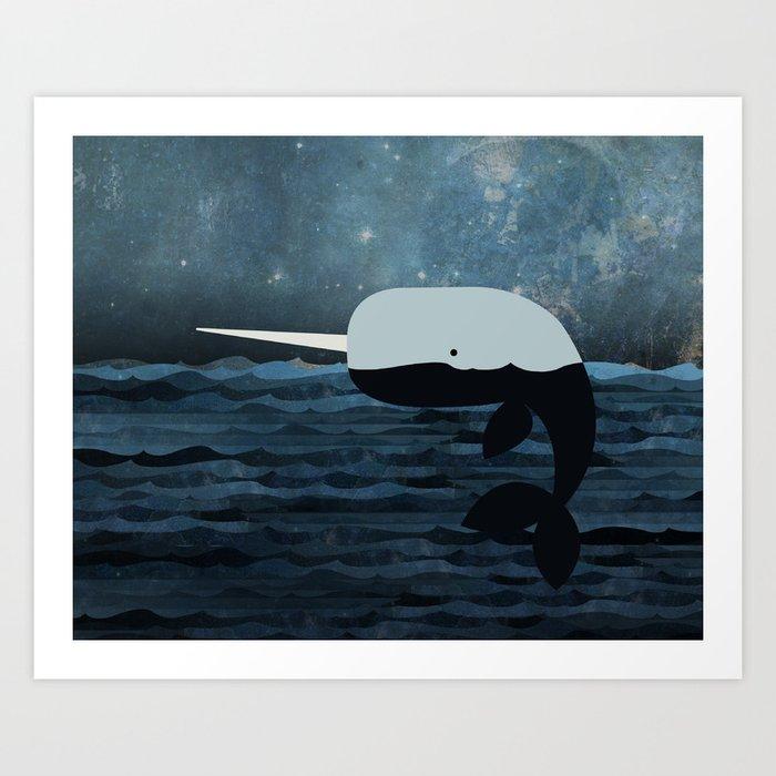 Whale Tales Art Print