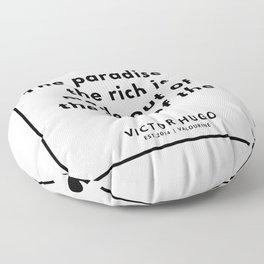 95  | Victor Hugo Quotes | 190830 Floor Pillow