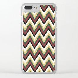 Peruvian Pattern Clear iPhone Case