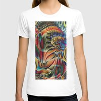 waterfall T-shirts featuring Waterfall by Klara Acel