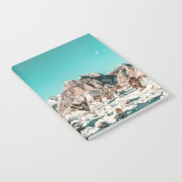 Vintage Lovers Cacti // Red Rock Canyon Mojave Nature Plants and Snow Desert in the Winter Notebook