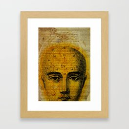 Inquiring minds. Framed Art Print